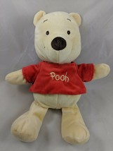 "Disney Winnie the Pooh Plush Bell Rattle 12"" Kids Preferred Stuffed Anim... - $6.95"