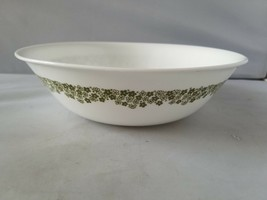 Corelle Corning Spring Blossom Green Floral Vegetable Bowl Serving Home ... - $23.24