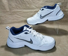 Nike Air Monarch IV Leather Lifestyle Gym Training Shoes Men 13 White 415445-102 image 2
