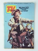 Ronald Reagan Monte Markham Vintage TV Digest 1967 Magazine Guide - $29.65