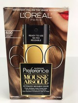 L'Oreal Paris Superior Preference Mousse Absolue, 600 Pure Light Brown - $19.79