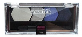 Maybelline - # 140 COVETABLE COBALT -  Eye Studio Quad Eye Shadow - $4.24