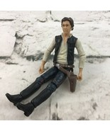 Star Wars Power Of The Force Han Solo Action Figure Toy Hasbro 2004 LFL - $9.89