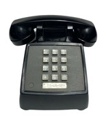 Vintage Bell System Western Electric Touch Tone Desk Telephone 2500 DM Black - $37.95