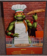 TMNT Michelangelo Pizza Parlor Glossy Art Print 11 x 17 In Hard Plastic ... - $24.99