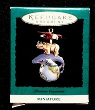 1995 Hallmark Miniature Ornament Precious Creations - MIB - $8.95