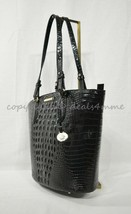 NWT Brahmin Medium Bowie Leather Tote/Shoulder Bag in Black Melbourne - $289.00