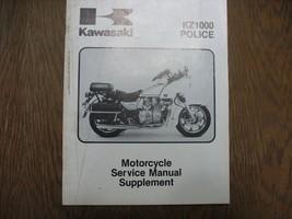 1984 84 Kawasaki KZ1000 Kz 1000 P3 Police Shop Supplement Repair Manual - $35.81