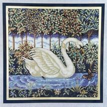Golden Swan Needlepoint Kit Elsa Williams Heritage Collection Pamela Silin - $69.04