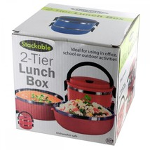 Stackable 2-tier Lunch Box OS172 - ₨3,647.24 INR