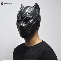 Black Panther Mask Movie Fantastic Four Cosplay Men 39s Latex Party Hall... - $33.85 CAD