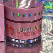 NEW IN BOX NWT Jeffree Star Velour Lip Scrub PANCAKES And SYRUP 30g(1oz) image 2