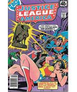 Justice League of America Comic Book #166, DC Comics 1979 NEAR MINT - $31.85
