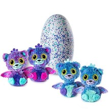 NEW! Hatchimals Draggle Surprise Twins Purple Blue Egg Collectible FREE ... - $54.44