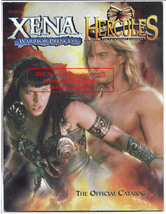 XENA Warrior Princess Xena & Hercules The Official Catalog 2000 - $32.99