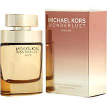 Michael Kors Wonderlust Sublime By Michael Kors Eau De Parfum Spray 3.4 Oz - $105.00