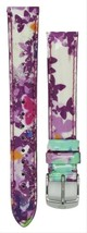 Michele 16mm Butterfly Multi Patent Strap MS16AA350884 Deco 16 Lilou Clo... - $53.99