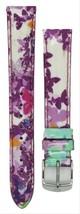 Michele 16mm Butterfly Multi Patent Strap MS16AA350884 Deco 16 Lilou Cloette - $53.99