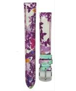 Michele 16mm Butterfly Multi Patent Strap MS16AA350884 Deco 16 Lilou Clo... - $53.99