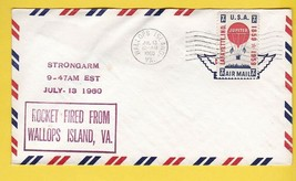 STRONGARM ROCKET FIRED FROM WALLOPS ISLAND VIRGINIA JULY 13 1960 - $4.48
