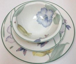 Epoch Garden Walk 3 Pc. Place Setting Service For 1-E125 (Oven Safe) - $29.69