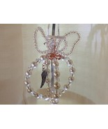 Angel Sun-catcher Ornament Glass pearl/crystal (hand-crafted) - $21.99