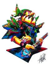 "Balsac the Jaws of Death, Gwar, Mike Derks, Guitar, Shock Rock 18""x24"" A... - $19.99"