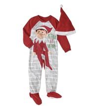 Elf On The Shelf Toddler Boys / Girls Blanket Sleeper Footie Kids Pajama... - $9.00