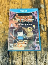 Adventure Time: Explore the Dungeon Because I Don't Know (Nintendo Wii U, 2013) - $17.33