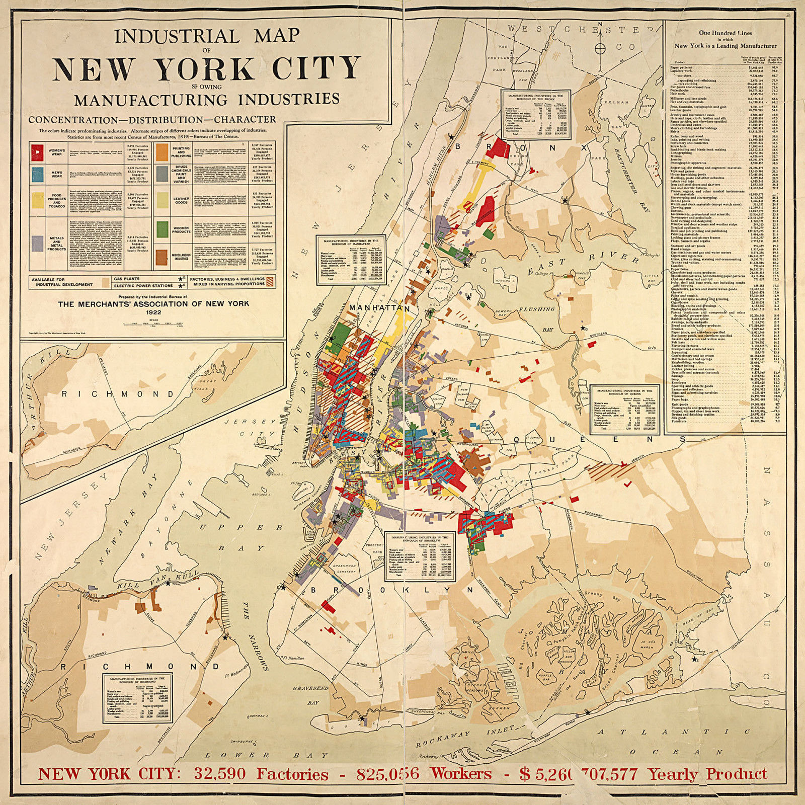 1922 New York City 16\