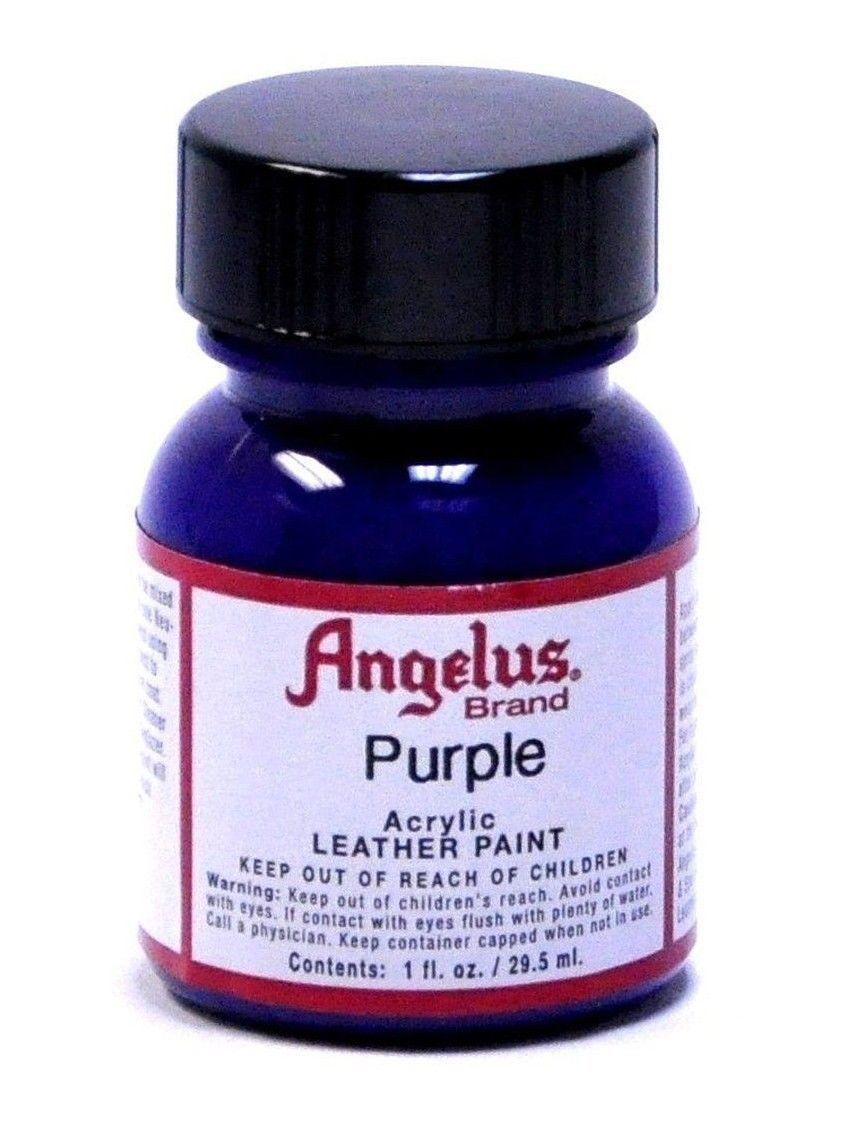 Angelus Acrylic Leather Paint /Dye - Leather & Vinyl - 1 Fl Oz