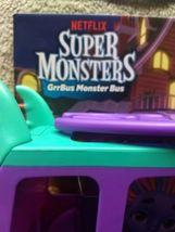 Netflix Playschool Super Monsters GrrBus Monster Bus Toy Lights Sounds & Music  image 5