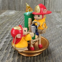 Fire Fighter Ornament Mouse Hallmark Flame Fighting Friends Christmas Ca... - $34.99