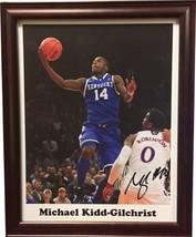 Michael Kidd-Gilchrist signed Kentucky Wildcats 11x14 Photo #14 Custom F... - $78.95