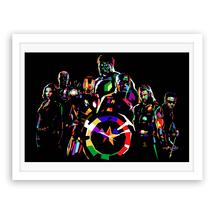 Abstract Unframed Oil Painting The Avengers Picture Canvas Print Home Decor - $4.28+