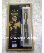 Parker Vector Special Edition GT Roller Ball Pen Ballpen Time Check -New... - $14.99