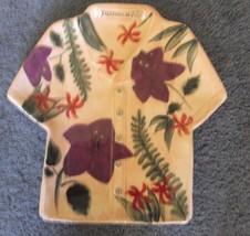 Jamaica Joe Hawaiian Shirt Plate by Cape Craftsmen Pea - $14.24