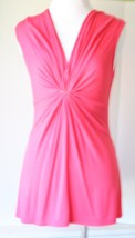 ELLA MOSS Beautiful Coral Top Flowing Women's XS Sleeveless Nordstrom - $19.79