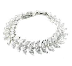 Becky Marquise Statement Tennis Bracelet  | 30ct | Cubic Zirconia - $64.95
