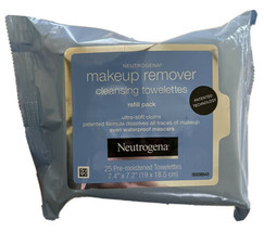 Neutrogena Make-Up Remover Towelettes - 25 Pieces - $13.81