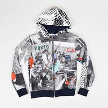 KIDS Dolce & Gabbana Multicolor Printed Hooded Sweater Jacket SZ 11/12 - $105.00