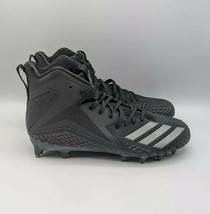 Adidas Freak x Carbon Mid Black Silver Mens Football Cleats CG4404 NEW S... - $38.65