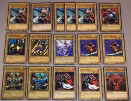 YU-GI-OH CARDS! lot of 16 Warrior Normal Monsters Celtic Guardian Blade ... - $14.03