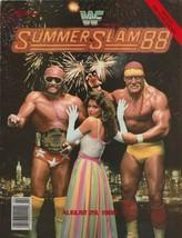 WWF Summerslam 1988 88 Wrestling Magazine Program WWE Vintage Hulk Hogan... - $39.59