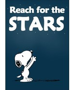 Snoopy Peanuts Reach For The Stars Stand-Up Display - Charlie Brown Linu... - $15.99