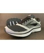 Brooks Revel Running Shoe Mens Sneaker Black/Gray 1102601D155 Brand New ... - $64.35