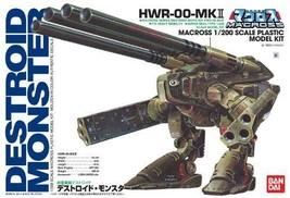 1/200 super heavyweight Destroyed monster Macross - $69.59