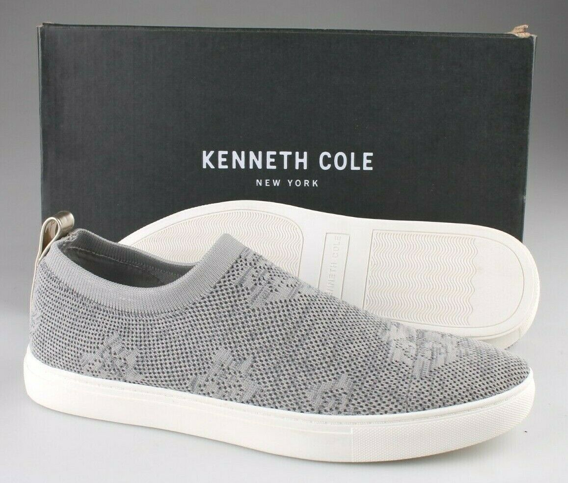 Kenneth Cole New York Women's Black Korden Floral Knit Slip-On Shoes Sneakers 9