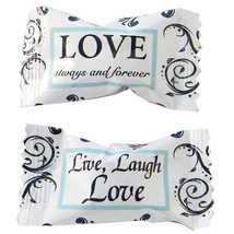 Bridal Shower / Wedding Marriage Day LOVE ALWAYS FOREVER BUTTERMINTS MIN... - $5.99