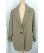Aileen Fisher Wool Blazer 1 Button Jacket Coat  L/G - $6.92